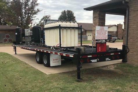 cng compression trailer