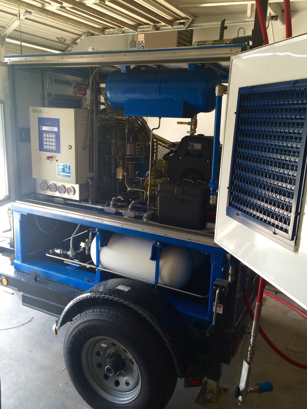portable cng compressor