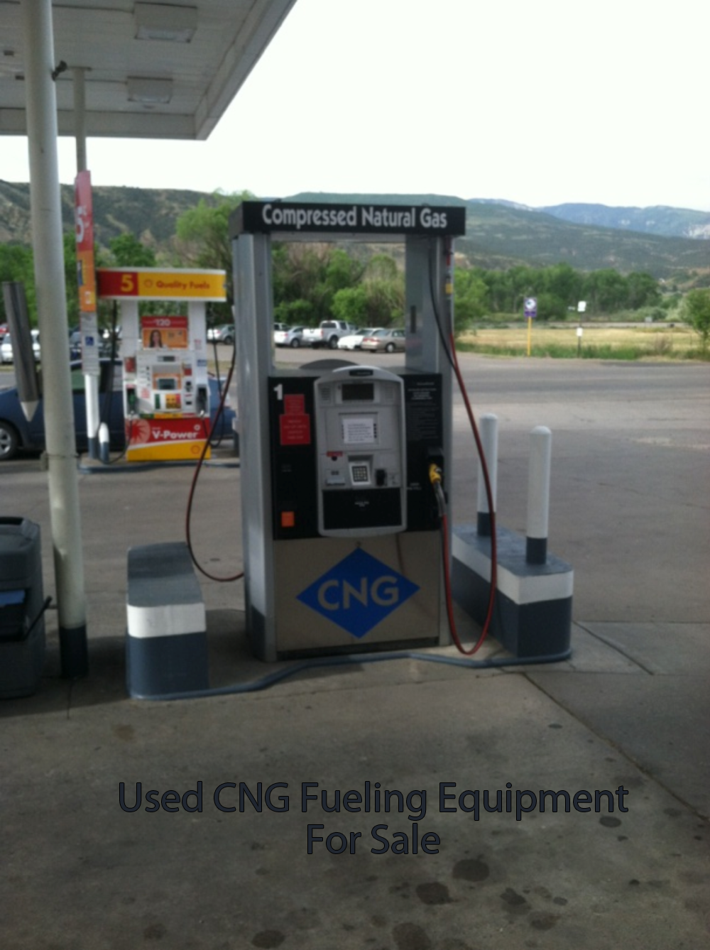 used cng dispenser