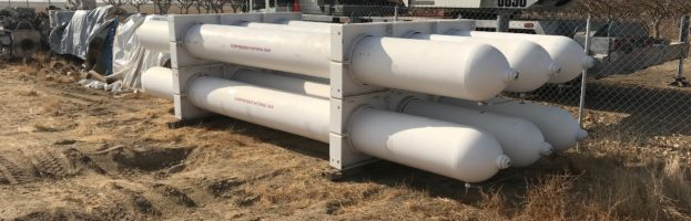 Used CNG Vessels – 23′ ASME 3-Pack 5500 psi – Two 3-Packs