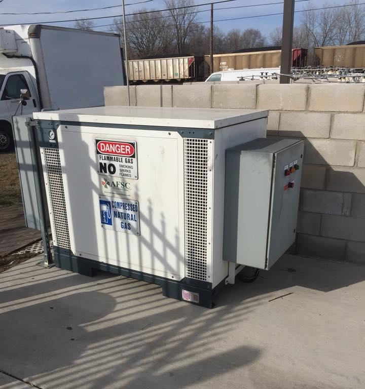 used cng compressor