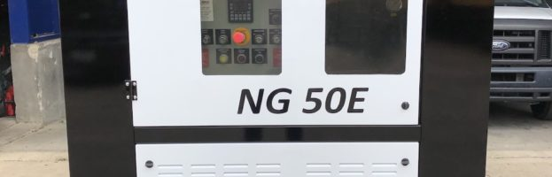 ANGI NG50 E CNG Compressor 50HP – Brand New Electric Drive 75SCFM