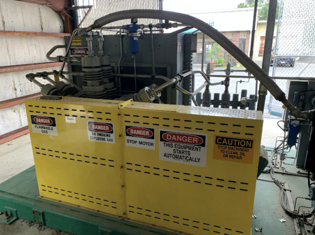 used 3-stage cng compressor